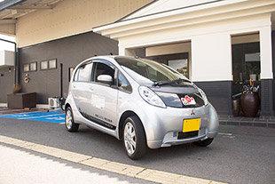 ★五島をお得にめぐろうプラン★彡 無料送迎♬ 三菱アイミーブ電気自動車